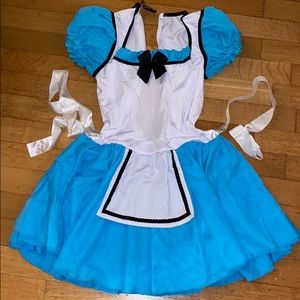 Alice in Wonderland costume bundle